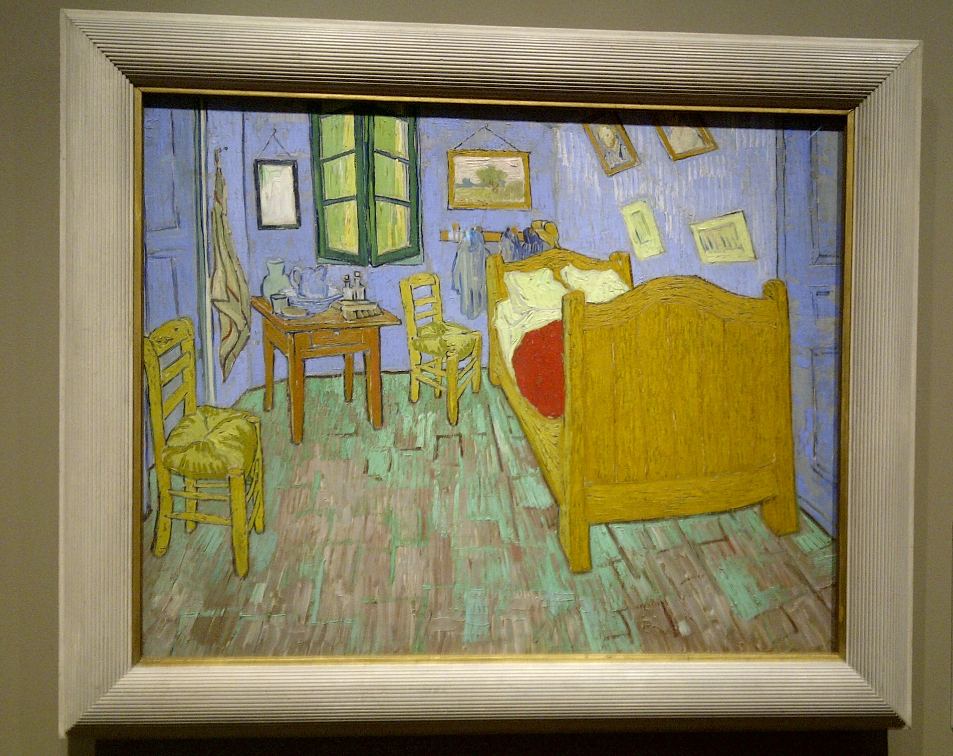 La chambre a coucher van gogh analyse for Chambre van gogh